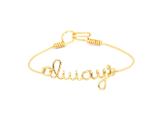 "Bracelet ""always"" by Steph.D"